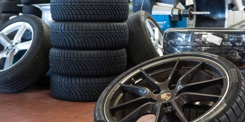 Einlagerung der Reifen