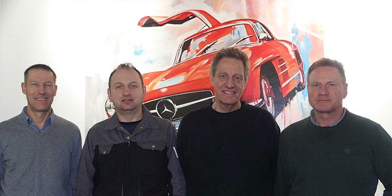 Das Team der Zentralgarage Stuttgart